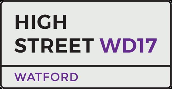 Watford Street Sign